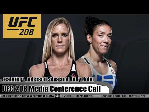 UFC 208 Conference Call with Holly Holm + Anderson Silva