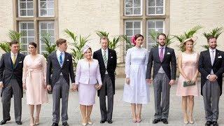 La Familia Ducal de Luxemburgo cierra su año más difícil