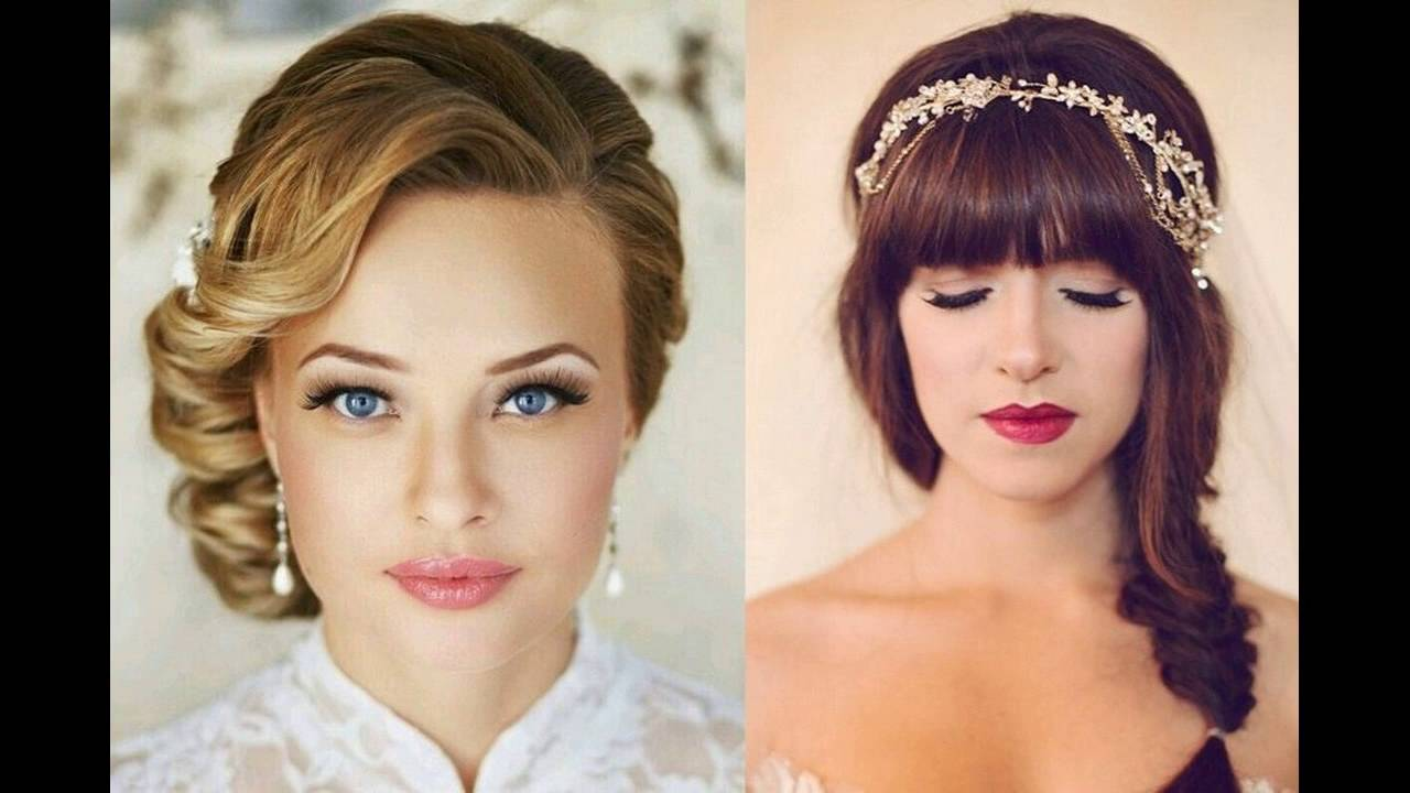 shape of face is key role for wedding hairstyle - youtube