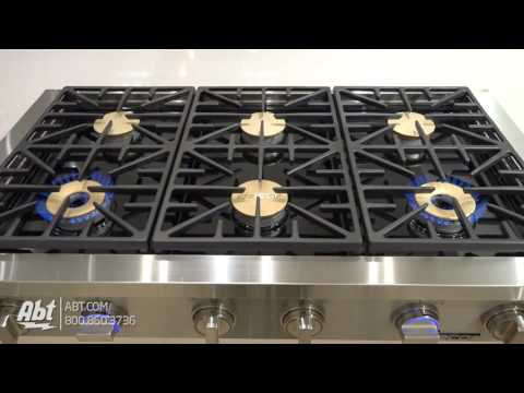 "Dacor Discovery 48"" Stainless Steel Gas Rangetop DYRTP486S/NG - Overview"