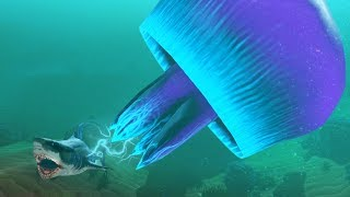 THE GIANT JELLYFISH - Feed and Grow Fish - Part 102 | Pungence
