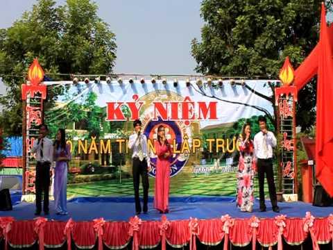 THPT Tran phu - nga son (Văn nghệ chào mừng 10 năm thành lập trường)