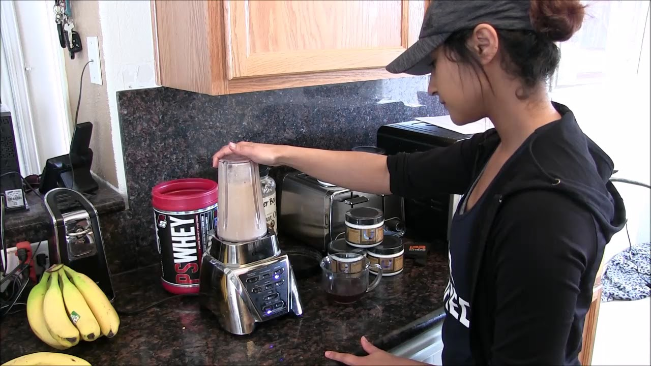 protein shake with revital u brew coffee beverly vargas. Black Bedroom Furniture Sets. Home Design Ideas
