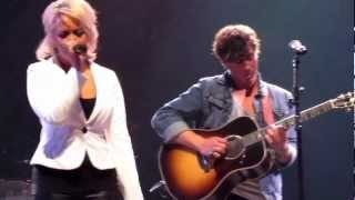 "STEEL Magnolia- Meghan Linsey Covering ""Let Him Fly"" At the Wildhorse Saloon"
