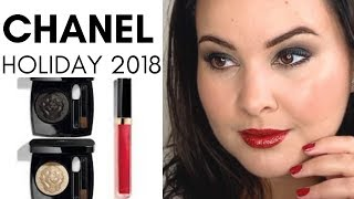 CHANEL SMOKEY EYE | COLLECTION LIBRE | HOLIDAY 2018