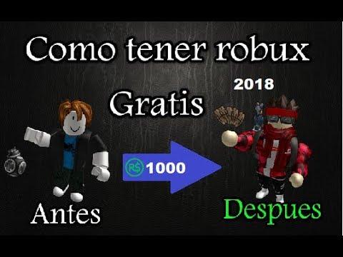 Como Tener Robux Gratis 2018