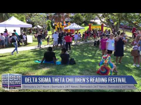 Delta Sigma Theta Children's Reading Festival, Nov 2 2019