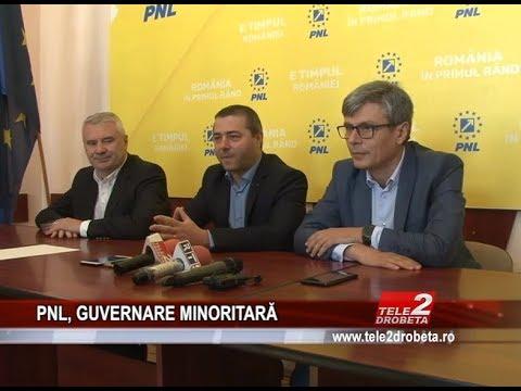 PNL, GUVERNARE MINORITARĂ