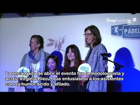"""VideoNoticia- El Torneo de Pádel Solidario recauda 42.450 € para """"Enfocando el Futuro"""""""