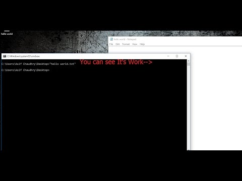 100% Work How To Use CMD To Open and Access Any Program or File
