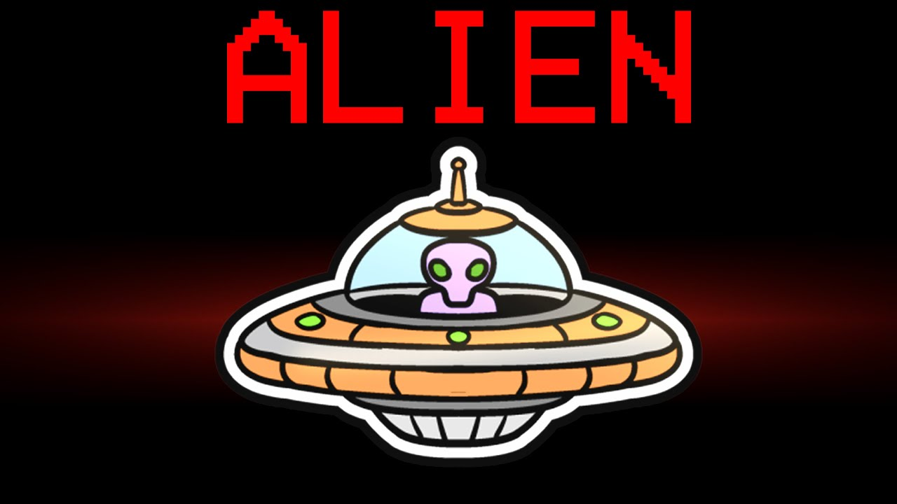 among us NEW ALIEN ROLE (mods)