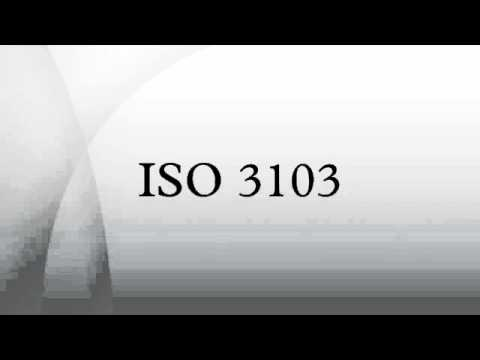 ISO 3103