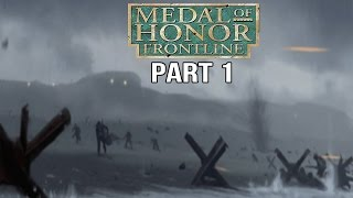 Medal of Honor Frontline Gameplay Walkthrough Part 1 - Normandy Landings