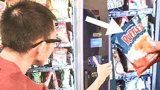 Clever Way to get FREE SNACKS from any Vending Machine!