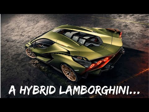 The 2020 Lamborghini Sian is a Hybrid! *5 Minute Review*