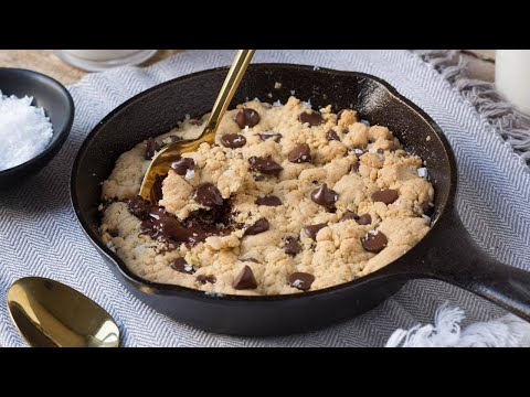 How To Make A Skillet Cookie For 2
