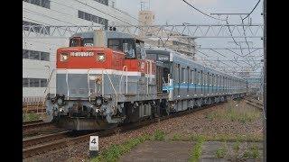 甲種輸送 DE10 1726号機+名古屋市営地下鉄N3000形(N3109H)+ヨ8000形 刈谷駅通過