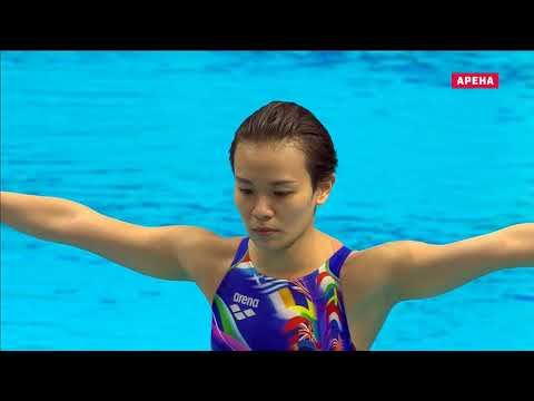 Budapest 2017 WC Diving Women 1 metre springboard Final