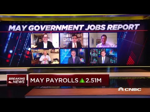 Three experts break down the shocking rise in May employment