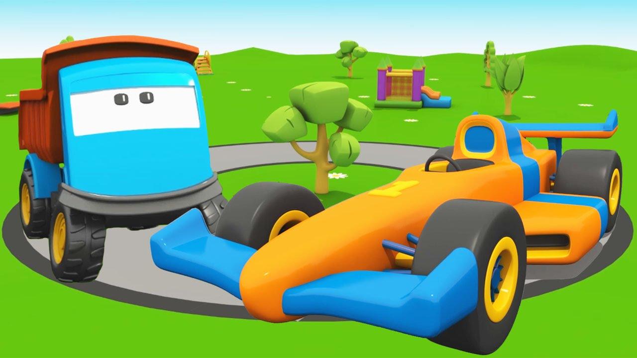 Cartoni animati per bambini leo il camion curioso e le