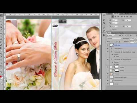 Portada de DVD para Boda Photoshop CS6 by Yanko0