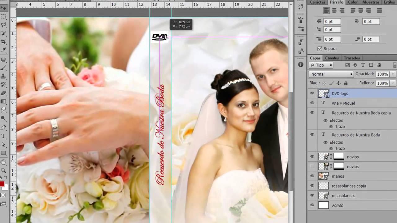 Portada de DVD para Boda Photoshop CS6 by Yanko0 - YouTube