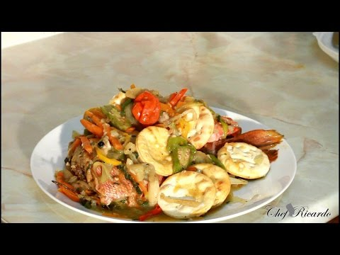 Jamaican Steamed Fish Recipe Video-Jamaican Steamed Fish Recipe Video