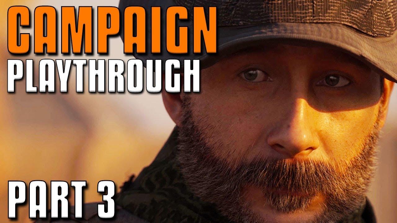 Call of Duty: Modern Warfare - Reprodução da campanha | Parte 3 + vídeo