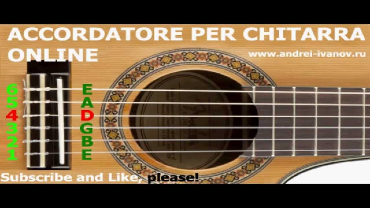 accordatore per chitarra da