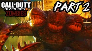 Call of Duty Black Ops 3 Zombies Gameplay Part 2 - GIANT MONSTER!! (Shadows Of Evil PS4 1080p)