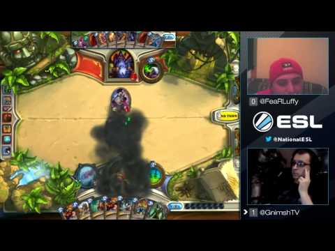 ESL America Hearthstone King of the Hill #16 Match 1: Gnimsh vs Luffy