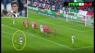 Paulo Dybala ⚽ Tutti i Goal su Punizione con la Juventus ⚽ HD 1080i #Juventus #Dybala