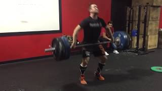 CrossFit LiftOff Snatch 300