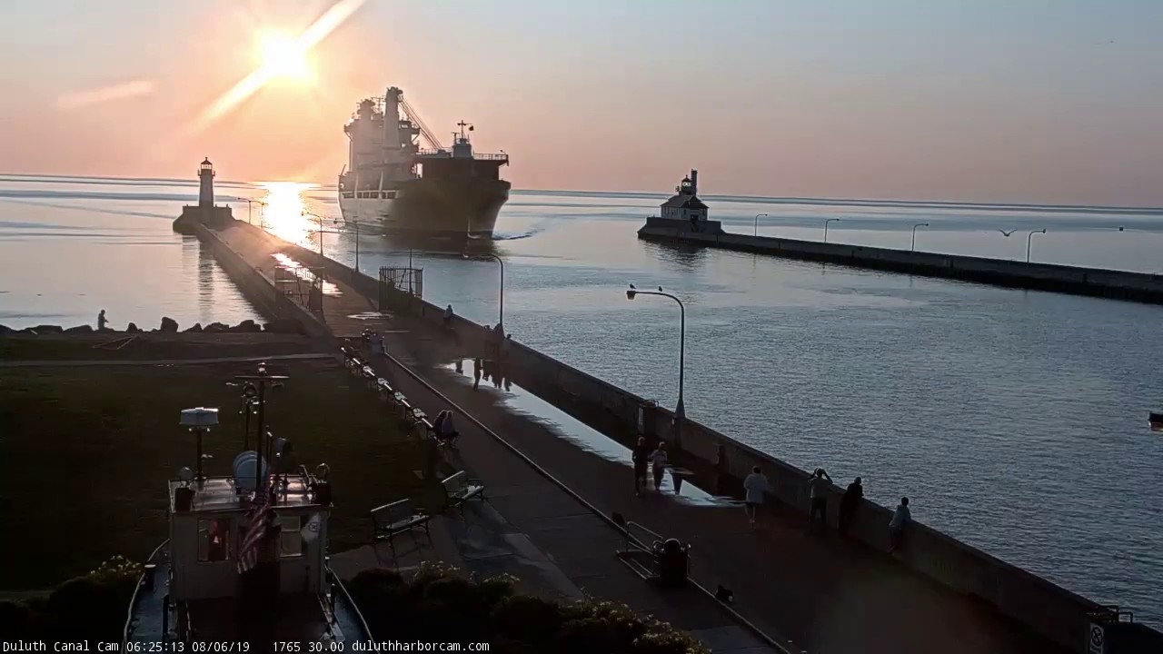 Happy River Arrived Duluth 08 06 2019