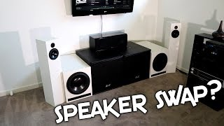SUBWOOFER SWAP? + HOW I EQ A SUBWOOFER TO A ROOM!