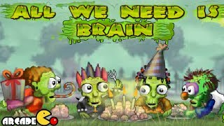 All We Need is Brain Walkthrough  Levels (1 - 15)