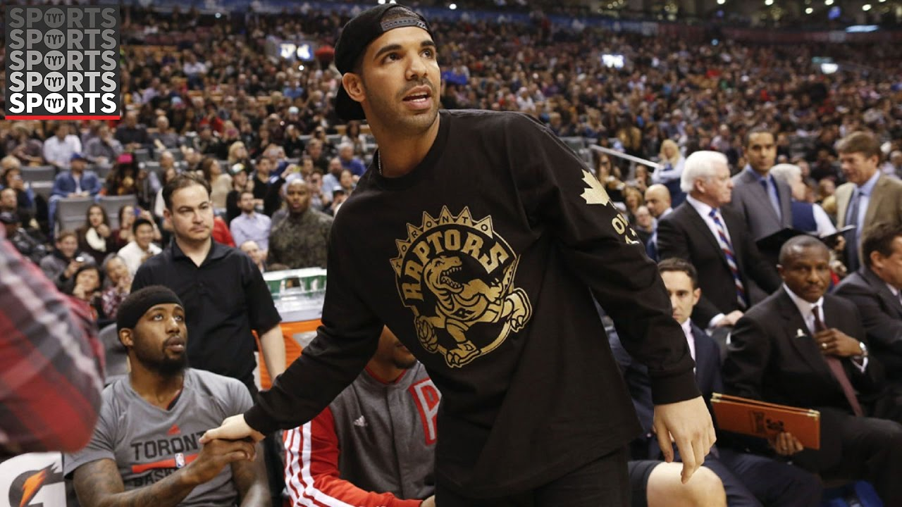 Image result for drake at raptors game