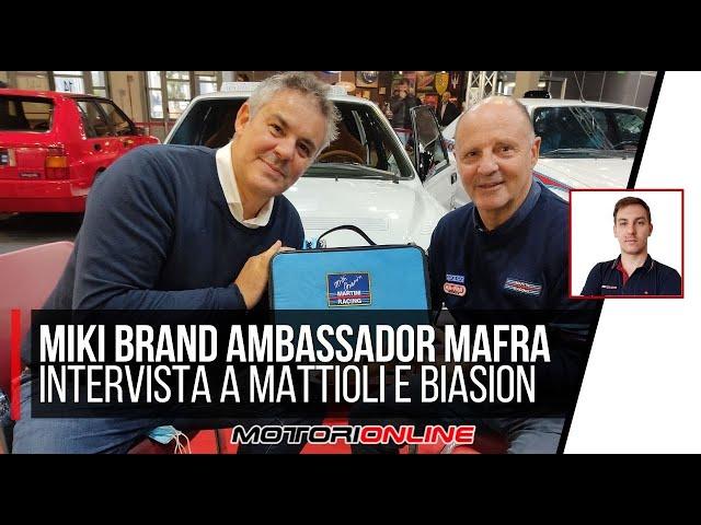 MIKI BIASION È BRAND AMBASSADOR MAFRA | L'intervista doppia con Marco Mattioli, A.D. MA-FRA