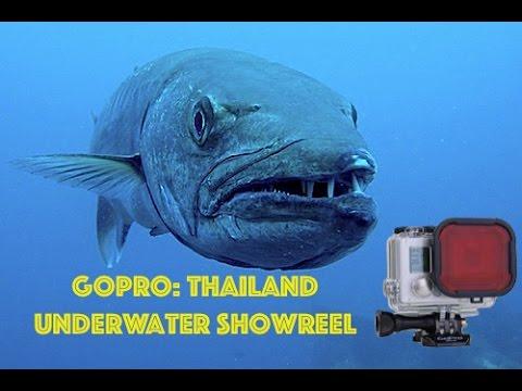 GoPro: Scuba Diving Thailand - 2015 UNDERWATER SHOWREEL HD ★★★★★