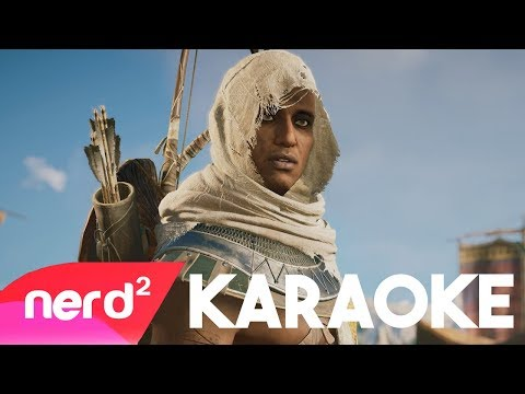 Assassin's Creed Origins Song | Feather In Blood | Karaoke [Prod by Boston]