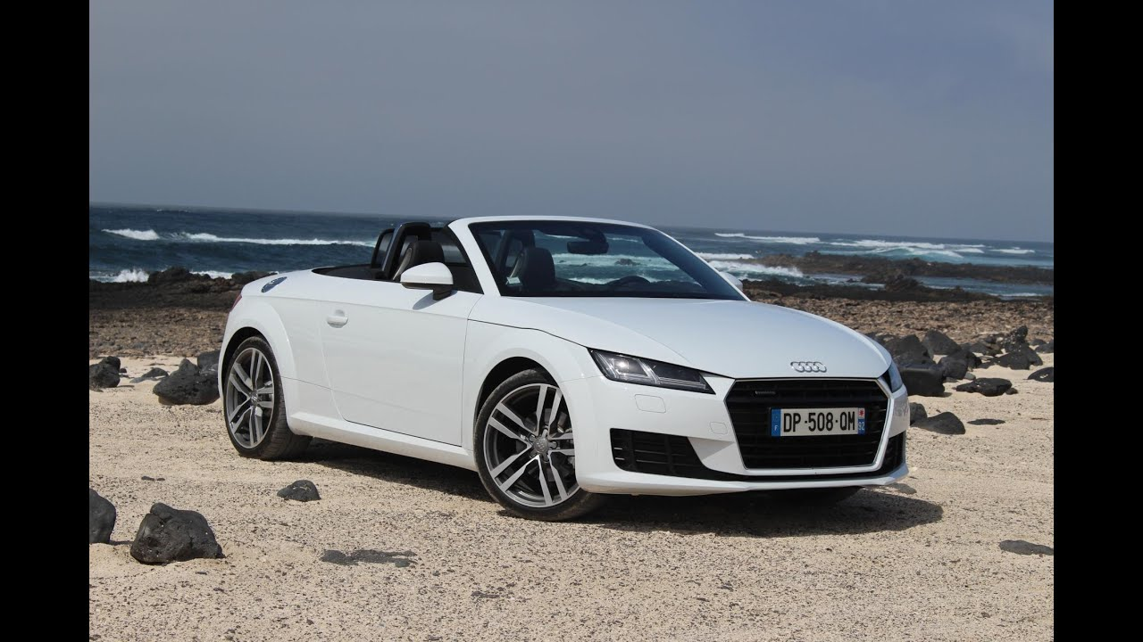 essai audi tt roadster les tt l 39 air youtube. Black Bedroom Furniture Sets. Home Design Ideas
