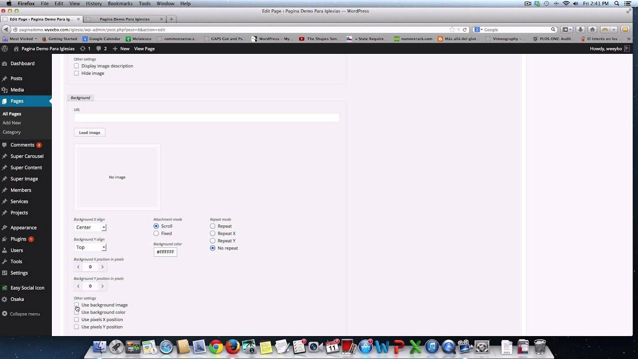 Background image align - Como Cambiar Background De Una P Gina De Tu Web