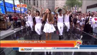 ♥ Ariana Grande ♥ on Today Show Part II ♥ The Way Live HD Thumbnail