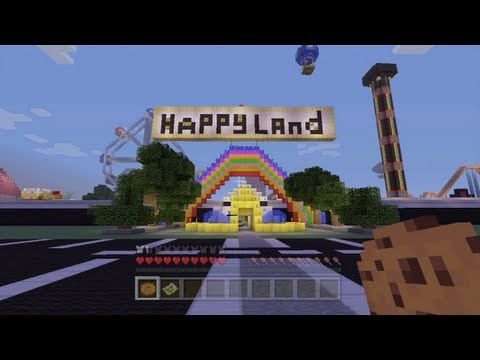 Minecraft Xbox - Happy Land Tour - Part 1