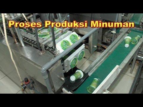 Proses Produksi Minuman
