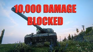 WOT - 10,000 Damage Blocked? In A British Tank? | World of Tanks