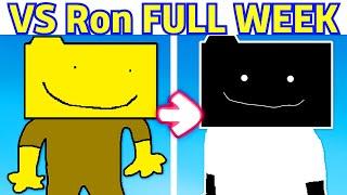 Vs Ron (Cool Mod) FULL WEEK + Bonus [HARD] - Friday Night Funkin' Fanmade Mod