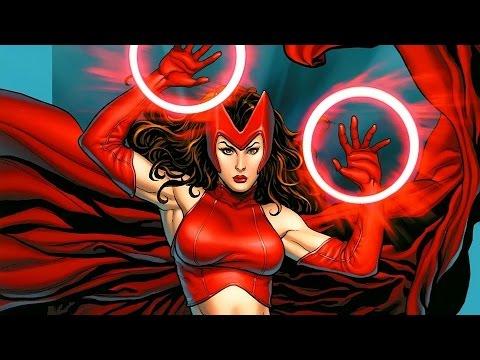 Герои Комиксов #16 - Алая Ведьма