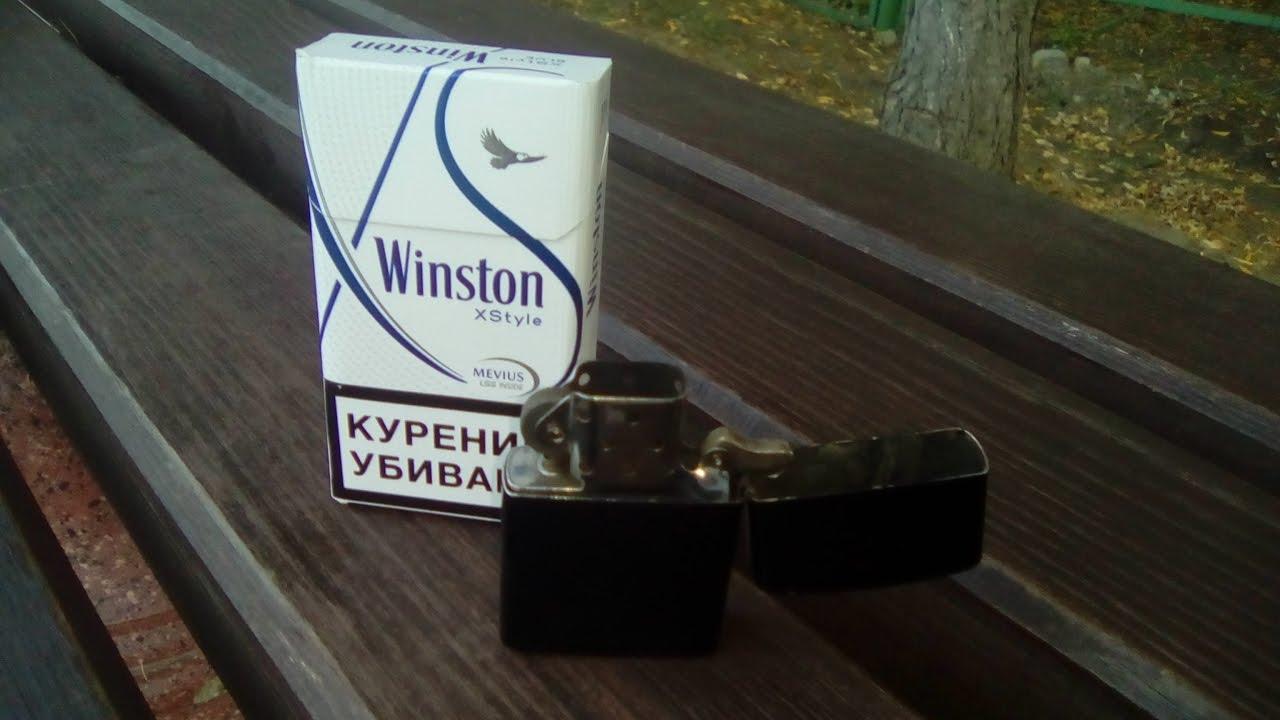 Обзор сигарет Winston XS LSS - YouTube