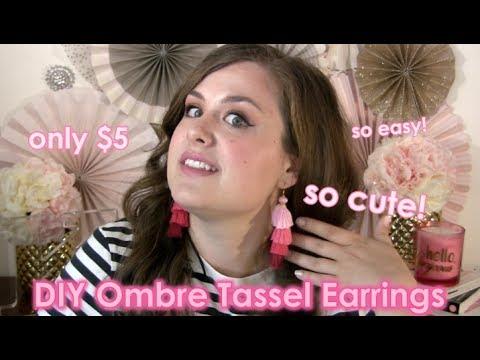 Lara's Crafts: DIY Tassel Earrings